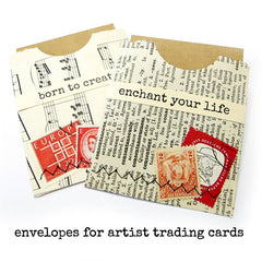 Enchant Your Life Wood Mounted Rubber Stamp