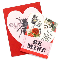 Forever and Always Be Mine Valentine Rubber Stamp