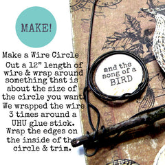 How to make a wire work circle