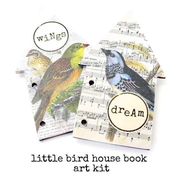 Little Bird House Book Art Kit