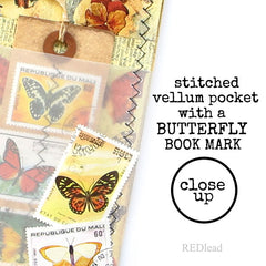 butterfly tag art work