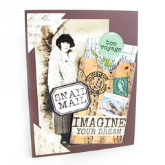mail art rubber stamps