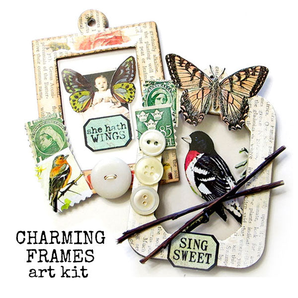 Charming Frames Art Kit