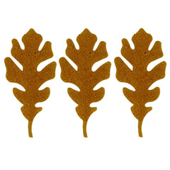 3 Chip Board Oak Leaves