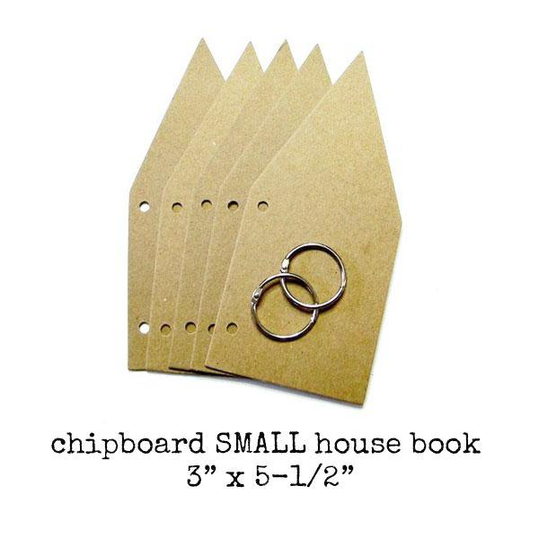 Chipboard Small House Book