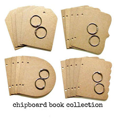 Chipboard Book Collection