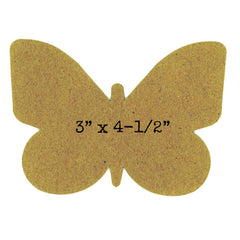 butterfly chipboard