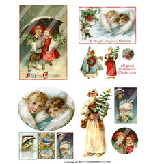 Christmas Collage Sheet 116