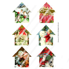 Christmas Collage Sheet 139