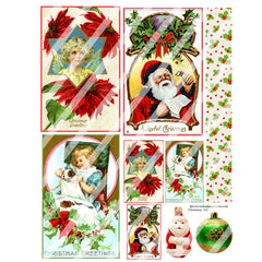 Christmas 142 Collage Sheet