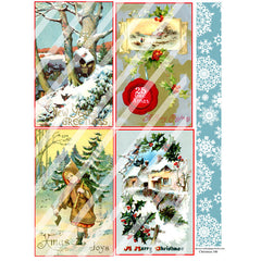 Christmas 146 Collage Sheet