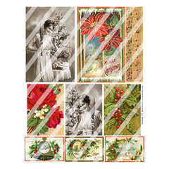 Christmas 158 Collage Sheet