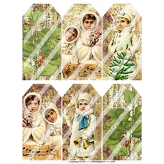 Christmas 187 Collage Sheet
