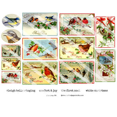 Christmas 198 Collage Sheet
