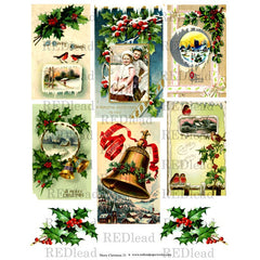 Christmas Collage Sheet 33