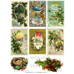 Christmas Collage Sheet 40