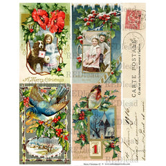 Christmas Collage Sheet 42