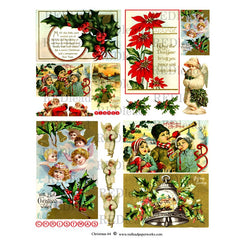 Christmas Collage Sheet 64