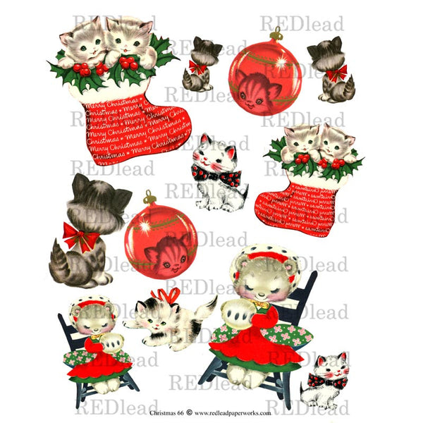 Christmas Collage Sheet 66