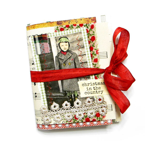 Christmas in the Country Handmade Junque Jurnal