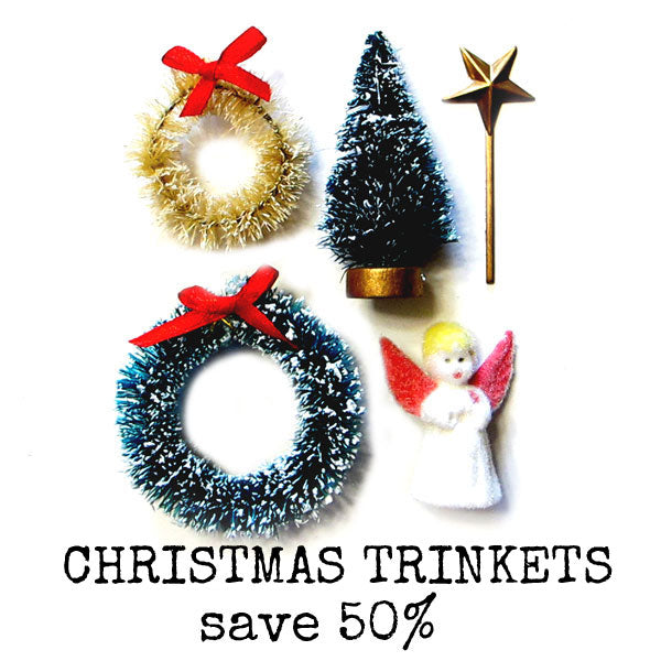 Vintage Style Christmas Trinkets Save 50%