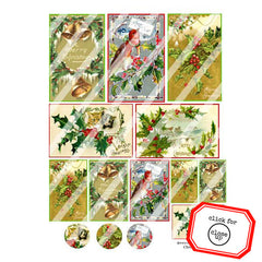 Christmas 162 Collage Sheet