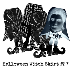 Halloween Collage Sheet 27 - Witch Skirts