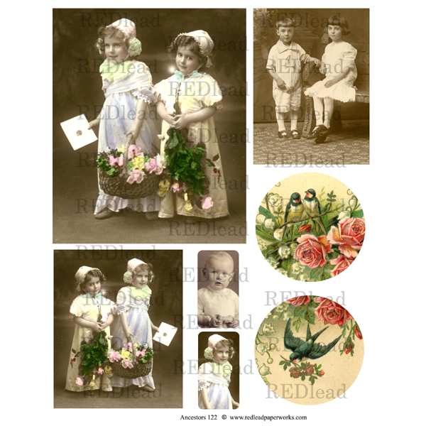 Collage Sheet Ancestors 122