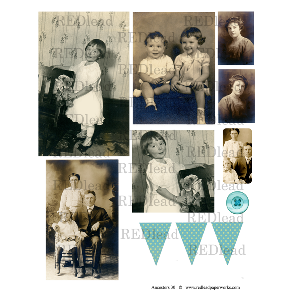 Collage Sheet Ancestors 30