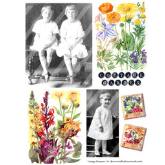 Vintage Elements 196 Collage Sheet