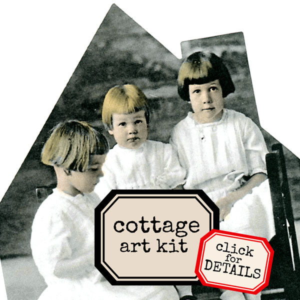 Welcome to My Cottage Art Kit Save 20%