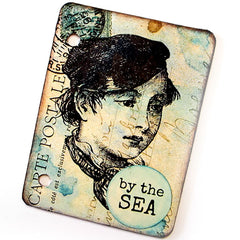 Sailor Boy Rubber Stamp