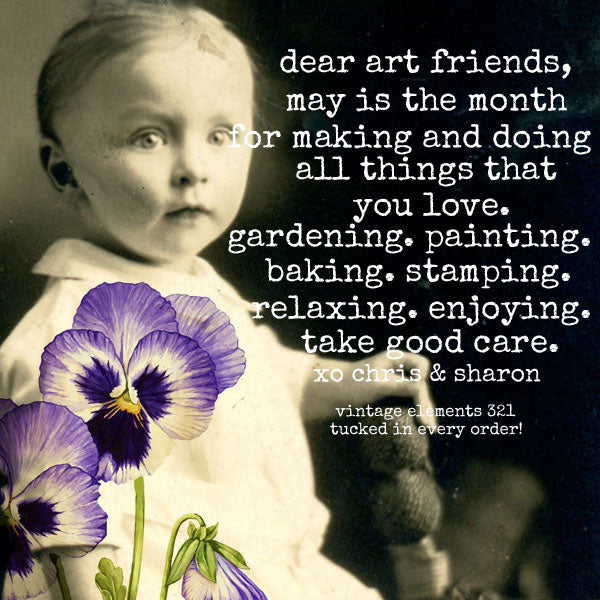 Dear Art Friends May is the Month