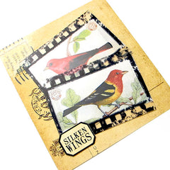 film strip rubber stamp