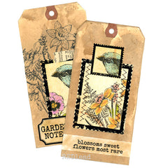 Forest Bird Rubber Stamp