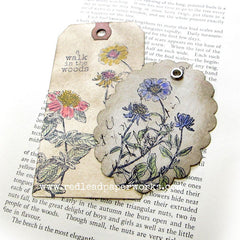 St. John Wort Flower Rubber Stamp