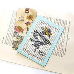 Gaillardia Flower Rubber Stamp