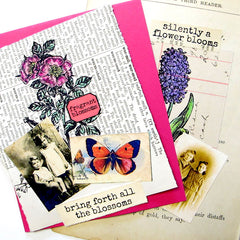 Hyacinth & Rosa Rubber Stamps