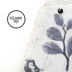 Forest Twig Rubber Stamp