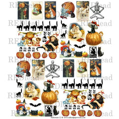 Halloween Collage Sheet 12