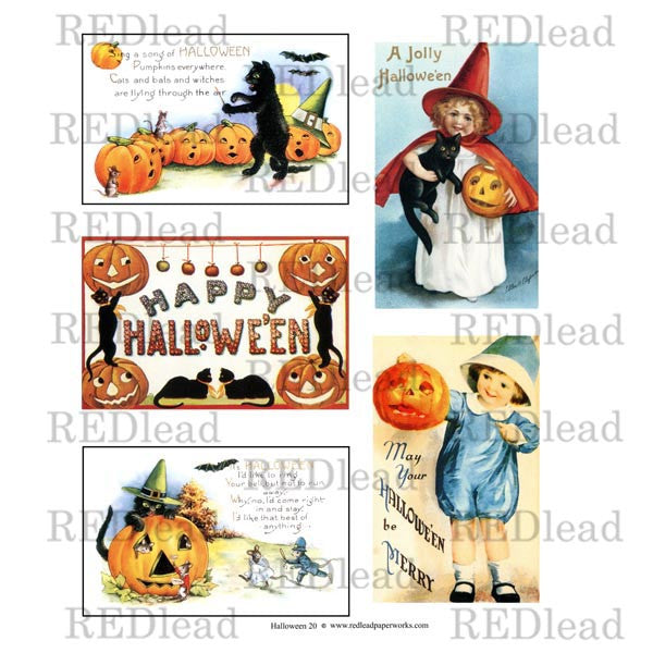 Halloween Collage Sheet 20