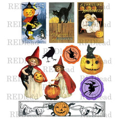 Halloween Collage Sheet 2