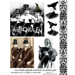 Halloween 44 Collage Sheet