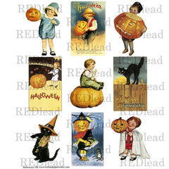 Halloween Collage Sheet 5
