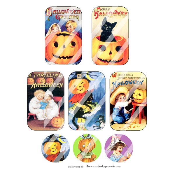 Halloween 89 Altoid Collage Sheet