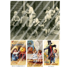 Halloween Collage Sheet 55