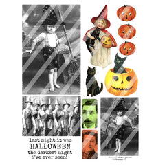 Halloween Collage Sheet 57