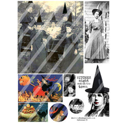 Halloween Collage Sheet 59