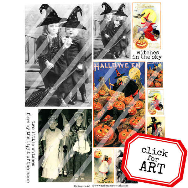Halloween Collage Sheet 60