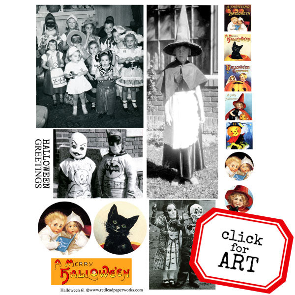 Halloween Collage Sheet 61